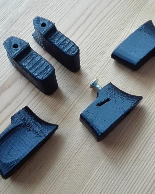 Finger spacer redesign